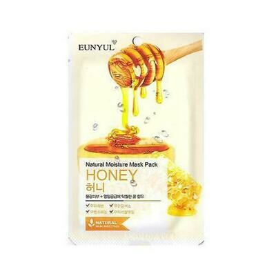 Eunyul Natural Moisture Mask Pack Honey Тканевая маска с роял желе