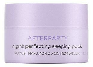 Beautific Afterparty Night Perfecrion Sleeping Pack Ночная восстанавливающая маска для лица против усталости с гиалуроновой кислотой