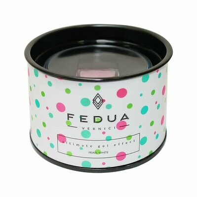 Fedua Pearl white Жемчужный белый  Лак для ногтей