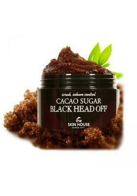 The Skin House Cacao Sugar Black Head Out Сахарный скраб с какао против черных точек