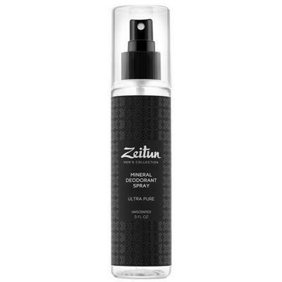 Zeitun Mineral Deodorant Spray Минеральный дезодорант-антиперспирант для мужчин нейтральный без запаха