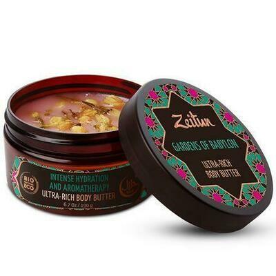 Zeitun Gardens Of Babylon Ultra-Rich Body Butter Увлажняющее Крем-масло для тела