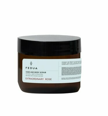 Fedua Hand and Body Scrub Extraordinary Rose Cкраб для рук и тела Роза