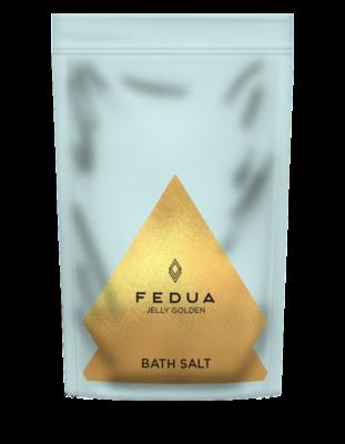 Fedua Jelly Golden Salt Bath Золотая соль для ванн