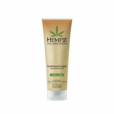 Hempz Body Scrub Sandalwood & Apple Скраб для тела Сандал и Яблоко