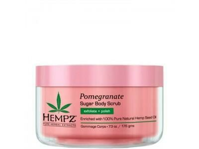 Hempz Sugar & Pomegranate Body Scrub Скраб для тела Сахар и Гранат