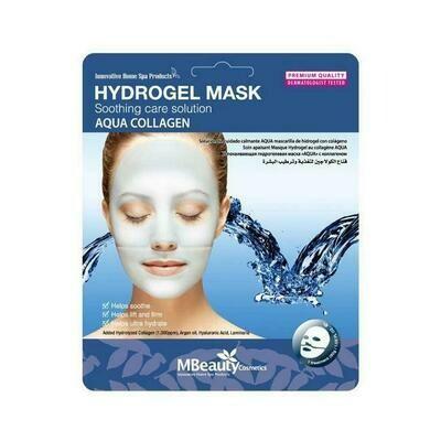 MBeauty Aqua Collagen Hydrogel Mask Успокаивающая увлажняющая гидрогелевая маска с коллагеном