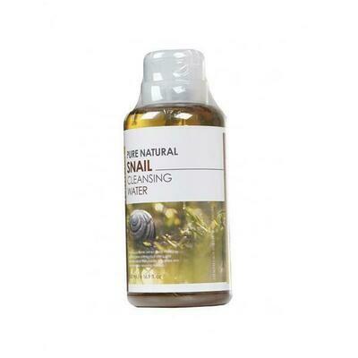 FarmStay Pure Natural Snail Cleansing Water Очищающая вода с муцином улитки