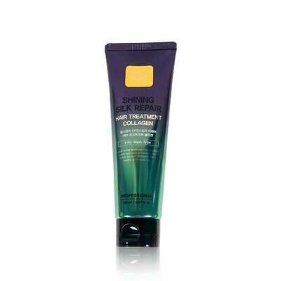 FarmStay Shining Silk Repair Hair Treatment Collagen Увлажняющая маска для волос с коллагеном