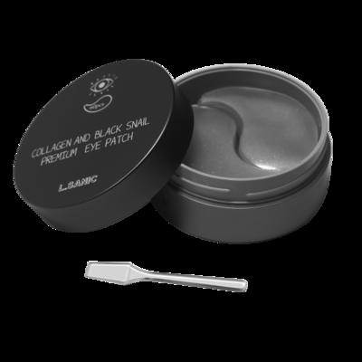 L.Sanic Collagen & Black Snail Premium Eye Patch Гидрогелевые патчи с коллагеном и муцином улитки