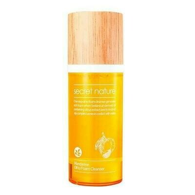Secret Nature Mandarine Oil to Foam Cleanser Гидрофильное масло-пенка с мандарином
