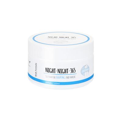 Wish Formula Night 365 Sea Water Sleeping Pad Mask Ночные увлажняющие диски для лица