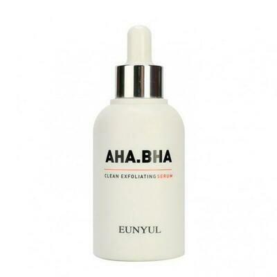 Eunyul Clean Exfoliating Serum Обновляющая сыворотка с AHA и BHA кислотами