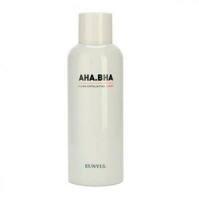 Eunyul Clean Exfoliating Toner Отшелушивающий тонер с AHA и BHA кислотами