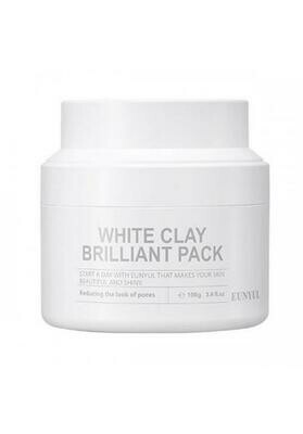 Eunyul White Clay Brilliant Pack Очищающая маска с белой глиной