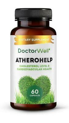 DoctorWell Atherohelp БАД для сердца и сосудов с Омега -3-6-9 и пустырником