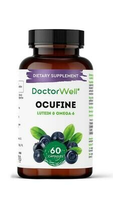 DoctorWell Ocufine Lutein Blueberries With Viburnum Oil БАД для глаз