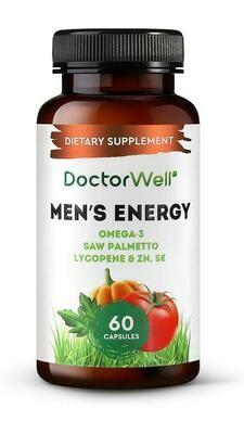 DoctorWell Men's Energy Омега-3 БАД для мужчин