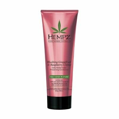 Hempz Blushing Grapefruit & Raspberry Creme Color Preserving Herbal Conditioner Кондиционер для сохранения цвета