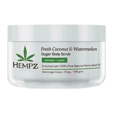 Hempz Fresh Coconut & Watermelon Sugar Scrub Сахарный скраб для тела