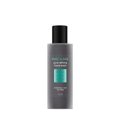 Beautific Pure Black Pore Refining Facial Wash Глубокоочищающий гель для умывания с бамбуковым углем и чайным деревом