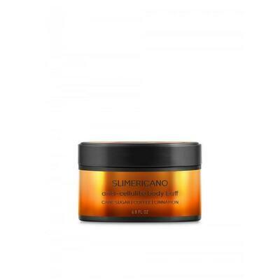 Beautific Slimericano Anti-cellulite Body Buff Сахарный антицеллюлитный скраб для тела с кофеином и маслом корицы