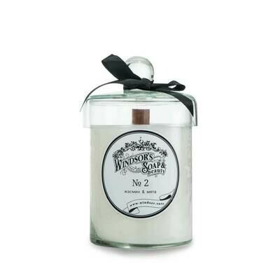 Windsor's Soap Jasmine & Mint Свеча с эфирными маслами жасмина и мяты