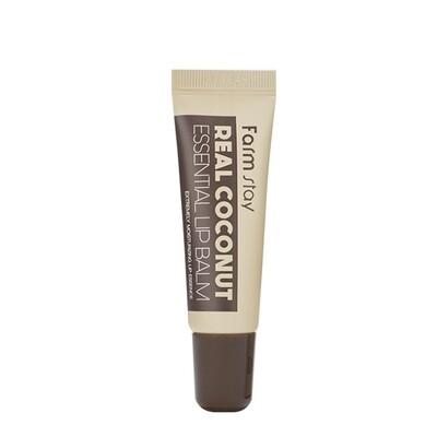 FarmStay Real Coconut Essential Lip Balm Бальзам для губ с экстрактом кокоса