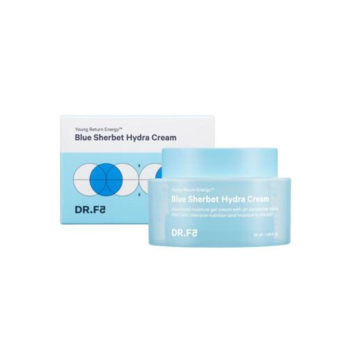 DR.F5 Blue Sherbet Hydra Cream Крем-щербет для интенсивного увлажнения