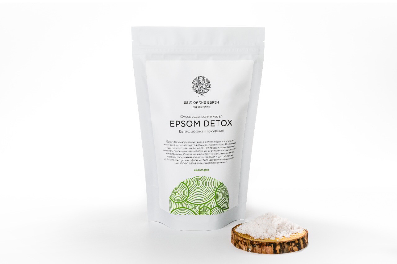"Epsom ""Detox"" Соль для ванны"