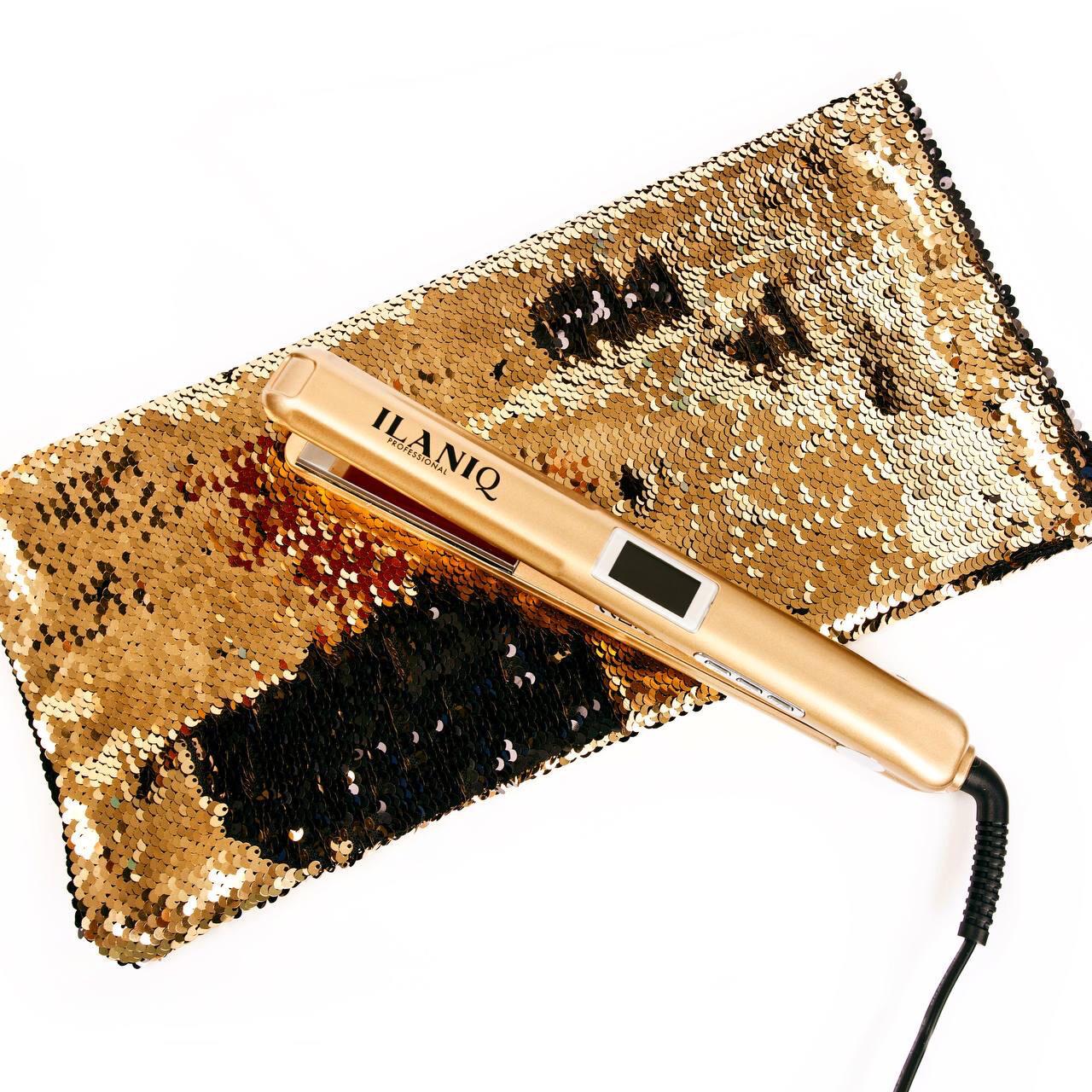 KV-1 ILANIQ professional Инфракрасный ультразвуковой утюжок для восстановления волос