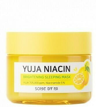 SOME BY MI Yuja Niacin 30 Days Miracle Brightening Sleeping Mask Ночная маска для сияния кожи