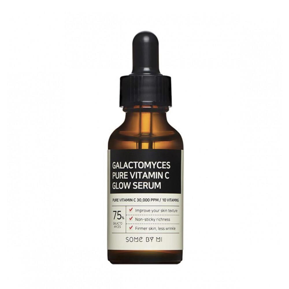 SOME BY MI Galactomyces Pure Vitamin C Glow Serum Выравнивающая сыворотка с галактомисисом и витамином С
