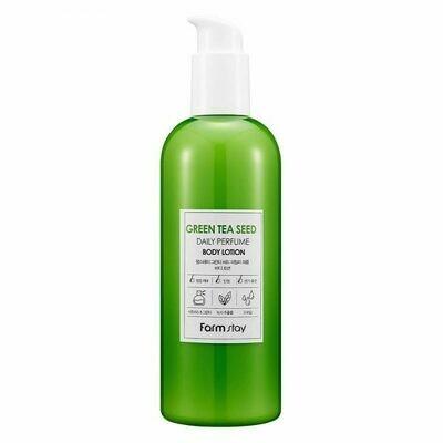 FarmStay Green Tea Seed Daily Perfume Body Lotion Парфюмированный лосьон для тела с экстрактом зеленого чая