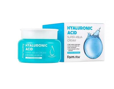 FarmStay Hyaluronic Acid Super Aqua Cream Суперувлажняющий крем с гиалуроновой кислотой