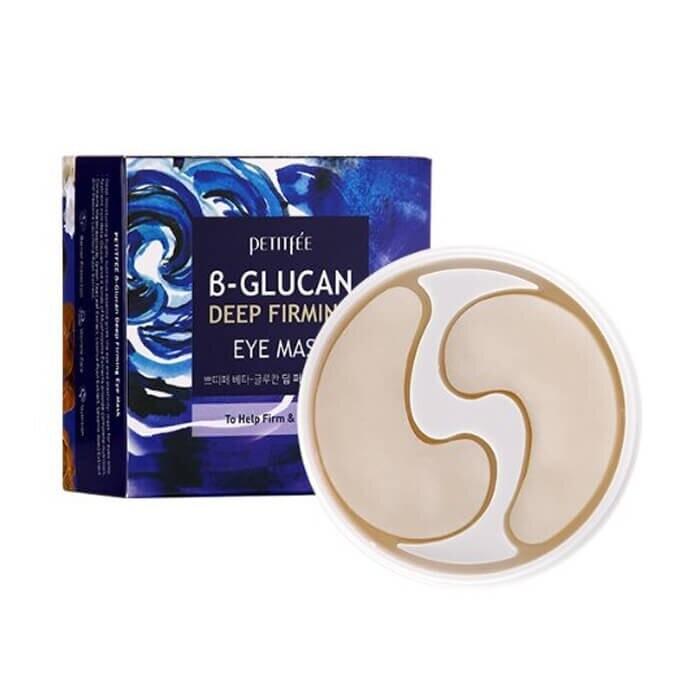 Petitfee B-Glucan Deep Firming Eye Mask Тканевые патчи для укрепления кожи вокруг глаз с бета-глюканом
