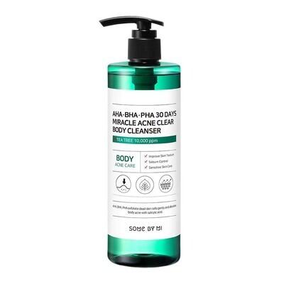 SOME BY MI AHA-BHA-PHA 30 Days Miracle Acne Clear Body Cleanser Очищающий гель для душа с кислотами для проблемной кожи