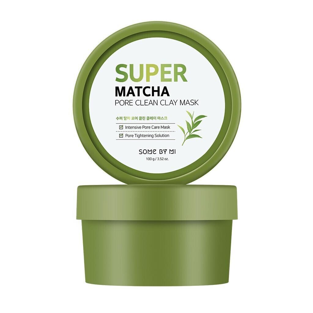 SOME BY MI Super Matcha Pore Clean Clay Mask Глиняная маска для очищения пор с чаем матча