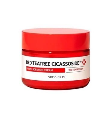 SOME BY MI Red Teatree Cicassoside Derma Solution Cream Успокаивающий крем с экстрактом красного чайного дерева