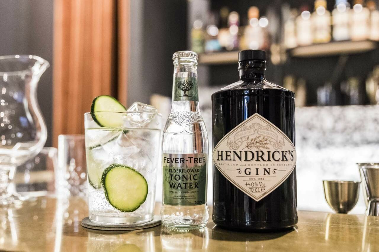 Gin Hendrik's & Fever Tree Premium Indian