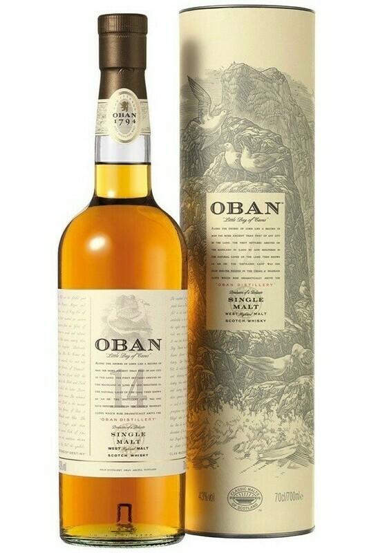 Scotch Whiskey Oban 14Y
