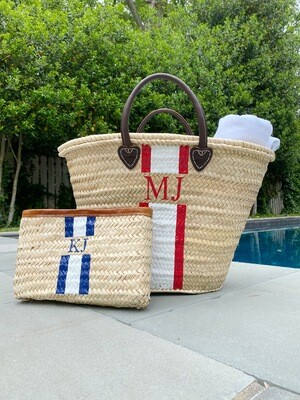 Straw Clutch - personalized