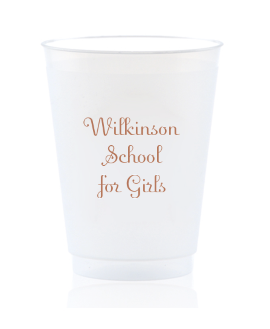 School Cups - custom