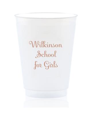 School Cups - custom