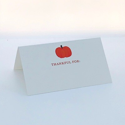 Thankful Place Card