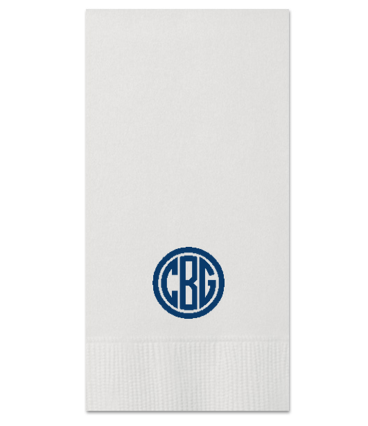 Custom Guest Towels - Monogram