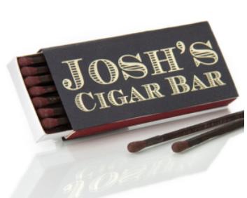 Custom Match Box - Cigar