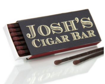 Custom Match Box - Cigar
