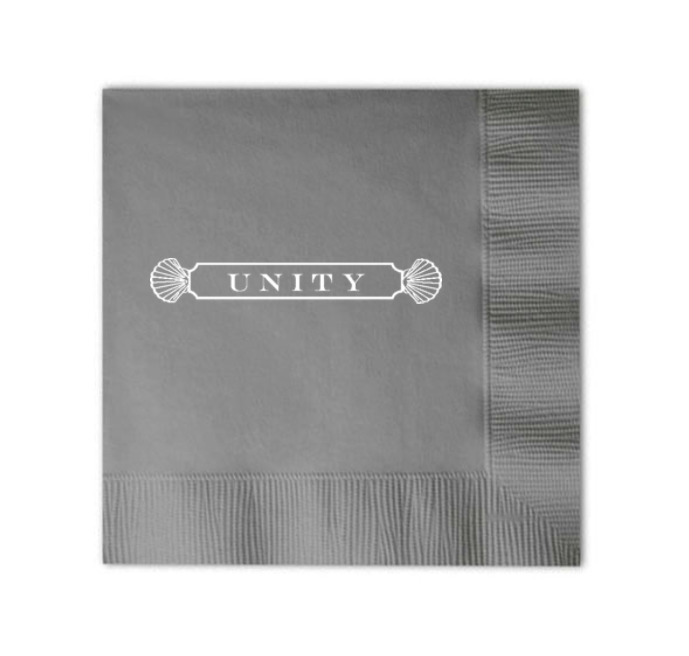 Custom Cocktail Napkins - Quaterboard Shell