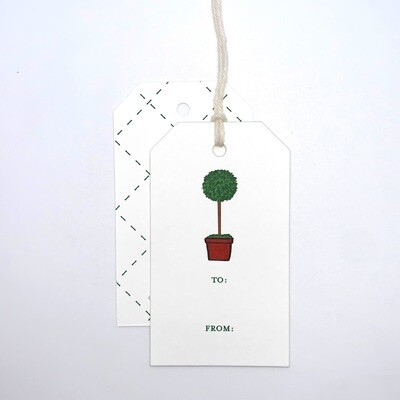 Gift Tag - Topiary